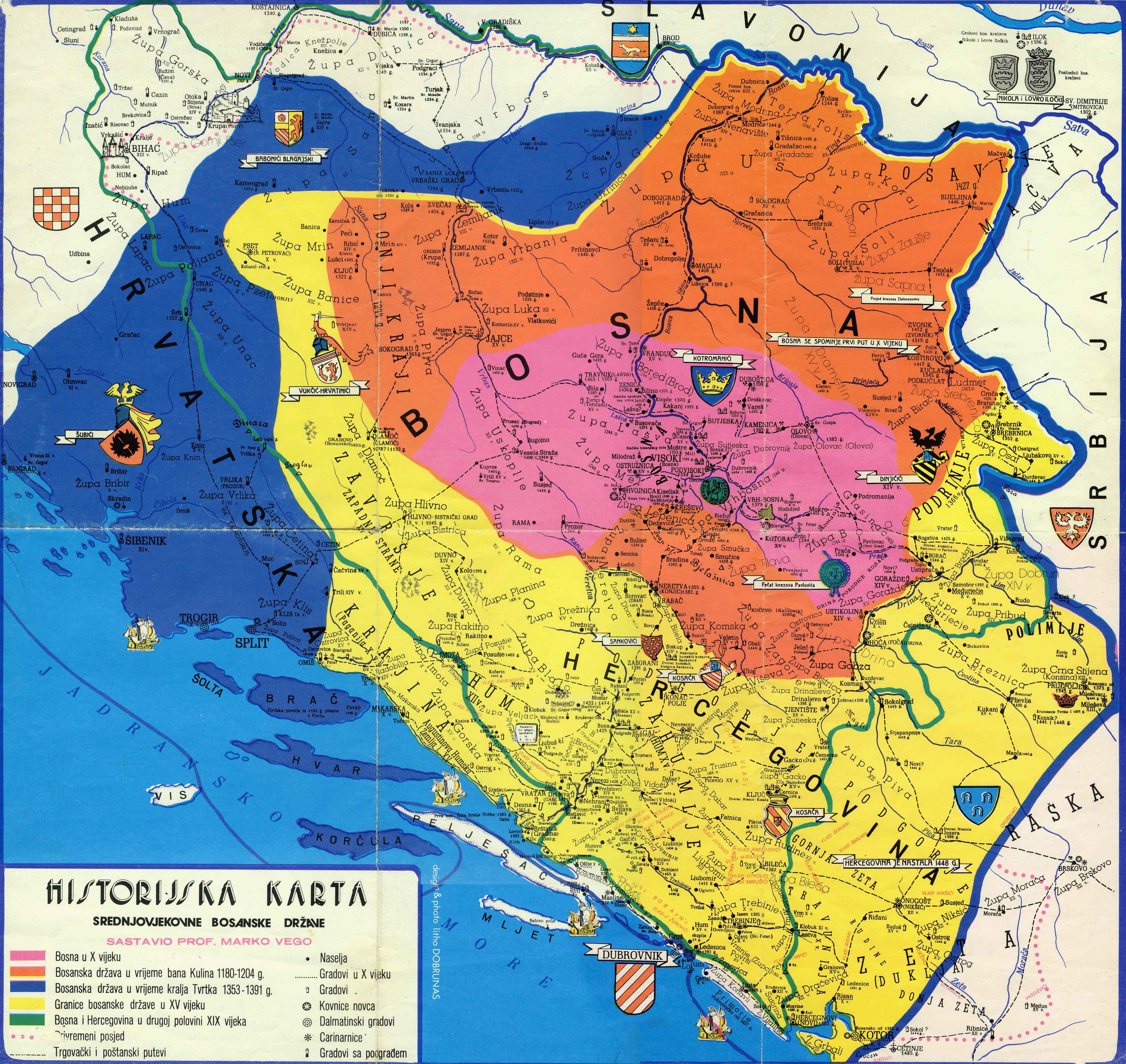 Auto Mapa Bih Auto Karta Bih i Hercegovina
